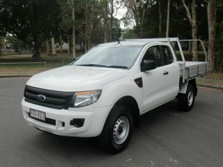 2015 Ford Ranger PX XL Hi-Rider White 6 Speed Sports Automatic Cab Chassis