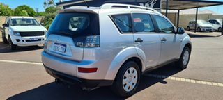 2007 Mitsubishi Outlander ZG MY07 LS Silver 6 Speed Constant Variable Wagon