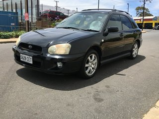 2005 Subaru Impreza S MY05 RS-X AWD Black 5 Speed Manual Hatchback