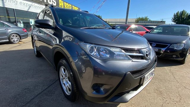 Used Toyota RAV4 ASA44R MY14 GX AWD Maidstone, 2015 Toyota RAV4 ASA44R MY14 GX AWD Grey 6 Speed Sports Automatic Wagon