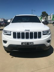 2014 Jeep Grand Cherokee WK Laredo Bright White 8 Speed Sports Automatic.