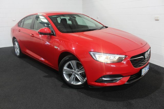 Used Holden Commodore ZB MY18 LT Liftback Glenorchy, 2018 Holden Commodore ZB MY18 LT Liftback Absolute Red 9 Speed Sports Automatic Liftback