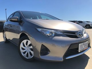 2014 Toyota Corolla ZRE182R Ascent S-CVT Positano Bronze 7 Speed Constant Variable Hatchback.