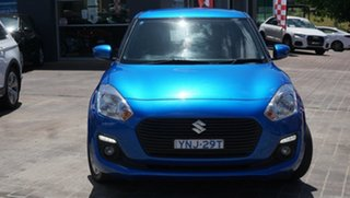 2017 Suzuki Swift FZ MY15 GL Navigator Blue 4 Speed Automatic Hatchback.