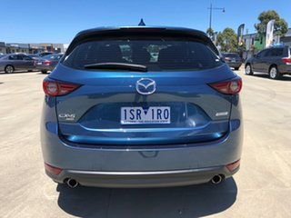 2019 Mazda CX-5 KF4WLA GT SKYACTIV-Drive i-ACTIV AWD Eternal Blue 6 Speed Sports Automatic Wagon