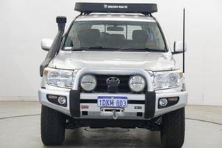 2010 Toyota Landcruiser VDJ200R MY10 GXL Silver 6 Speed Sports Automatic Wagon.
