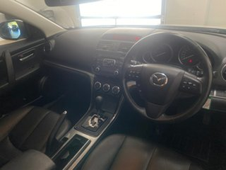 2011 Mazda 6 GH MY11 Touring Silver 5 Speed Auto Activematic Wagon