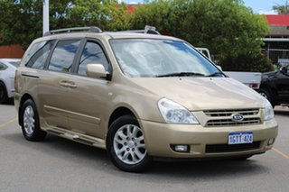 2008 Kia Grand Carnival VQ MY07 EX Gold 5 Speed Sports Automatic Wagon.