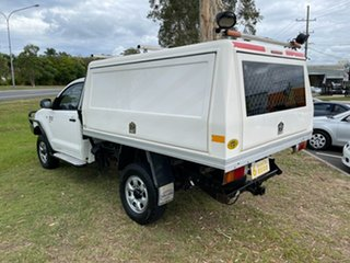 2011 Toyota Hilux KUN26R MY10 SR White 5 Speed Manual Cab Chassis