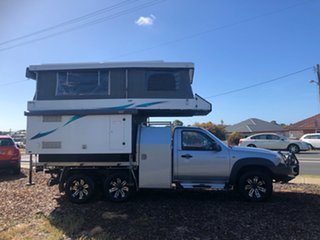 2010 Mazda BT-50 UNY0E4 DX Silver 5 Speed Manual Cab Chassis.