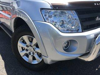 2014 Mitsubishi Pajero NW MY14 GLX-R Billet Silver 5 Speed Sports Automatic Wagon.