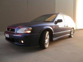2003 Subaru Liberty B3 MY03 RX AWD Special Edition Alba Blue Metallic 4 Speed Automatic Wagon.