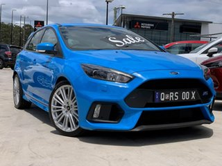 2017 Ford Focus LZ RS AWD Nitrous Blue 6 Speed Manual Hatchback.