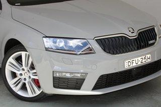 2015 Skoda Octavia NE MY16 RS DSG 135TDI Grey 6 Speed Sports Automatic Dual Clutch Wagon.