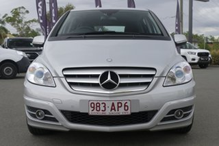 2010 Mercedes-Benz B-Class W245 MY11 B200 Polar Silver 7 Speed Constant Variable Hatchback