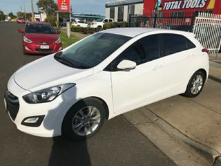 2014 Hyundai i30 GD2 MY14 Trophy Creamy White 6 Speed Sports Automatic Hatchback