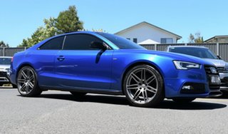 2014 Audi A5 8T MY14 S Tronic Quattro Blue 7 Speed Sports Automatic Dual Clutch Coupe