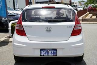 2012 Hyundai i30 FD MY11 SX White 4 Speed Sports Automatic Hatchback