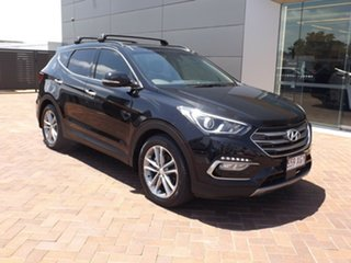 2016 Hyundai Santa Fe DM3 MY17 Highlander Black 6 Speed Sports Automatic Wagon.