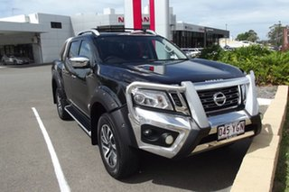 2018 Nissan Navara D23 S3 ST-X Cosmic Black 7 Speed Sports Automatic Utility.