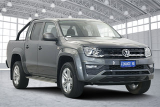 2018 Volkswagen Amarok 2H MY18 TDI420 4MOTION Perm Core Plus Grey 8 Speed Automatic Utility.