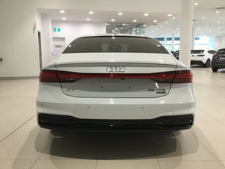 2018 Audi A7 4K MY19 55 TFSI Sportback S Tronic Quattro Ultra White 7 Speed