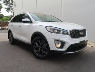 2016 Kia Sorento UM MY17 Platinum AWD White 6 Speed Sports Automatic Wagon.