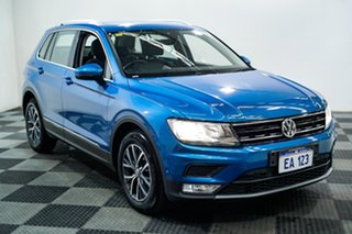 2016 Volkswagen Tiguan 5N MY17 110TSI DSG 2WD Comfortline Blue 6 Speed Sports Automatic Dual Clutch