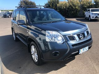 2013 Nissan X-Trail T31 Series V ST Tempest Blue 1 Speed Constant Variable Wagon.