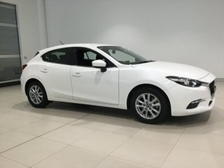 2017 Mazda 3 BN5478 Maxx SKYACTIV-Drive White 6 Speed Sports Automatic Hatchback.