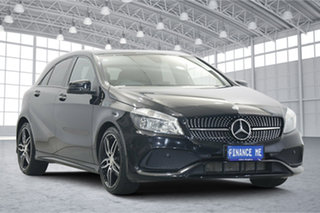 2016 Mercedes-Benz A-Class W176 806MY A200 D-CT Black 7 Speed Sports Automatic Dual Clutch Hatchback.