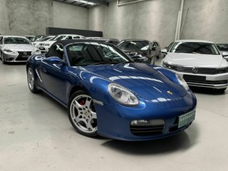 2005 Porsche Boxster 987 MY05 S Blue 6 Speed Manual Convertible.