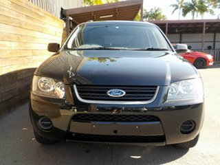 2008 Ford Territory SY SR RWD Black 4 Speed Sports Automatic Wagon