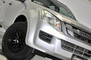 2012 Isuzu D-MAX TF MY12 SX HI-Ride (4x2) Silver 5 Speed Automatic Crew Cab Utility.