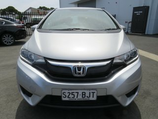 2016 Honda Jazz GF MY16 VTi Silver 5 Speed Manual Hatchback.