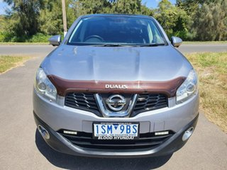 2012 Nissan Dualis J10 Series 3 TI-L Grey Constant Variable Hatchback