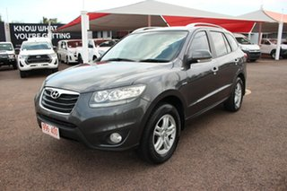 2010 Hyundai Santa Fe CM MY10 Elite Mercury Grey 6 Speed Automatic Wagon.