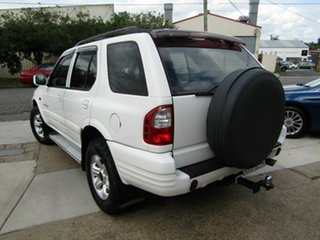 2001 Holden Frontera MX SE White 4 Speed Automatic Wagon.