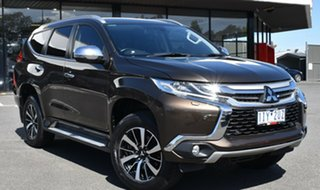 2016 Mitsubishi Pajero Sport QE MY16 Exceed Bronze 8 Speed Sports Automatic Wagon.