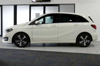 2017 Mercedes-Benz B180 246 MY17.5 Glacier White 7 Speed Auto Direct Shift Hatchback