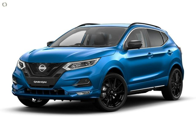 New Nissan Qashqai J11 Series 3 MY20 Midnight Edition X-tronic Gympie, 2020 Nissan Qashqai J11 Series 3 MY20 Midnight Edition X-tronic Vivid Blue 1 Speed Constant Variable