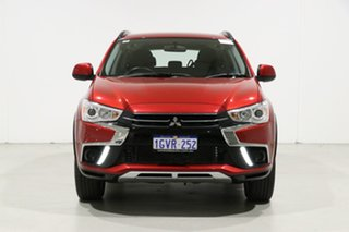 2019 Mitsubishi ASX XC MY19 ES (2WD) Red Continuous Variable Wagon.