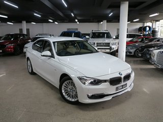 2014 BMW 320i F30 MY0813 320i White 8 Speed Sports Automatic Sedan.