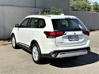 2020 Mitsubishi Outlander ZL MY20 ES 2WD White 5 Speed Manual Wagon
