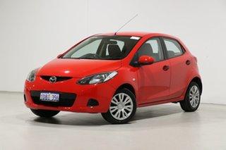 2009 Mazda 2 DE Neo Red 4 Speed Automatic Hatchback.