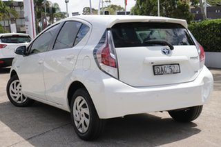 2015 Toyota Prius c NHP10R MY15 Hybrid White Mist Continuous Variable Hatchback.