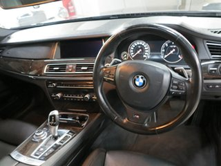 2012 BMW 7 Series F01 LCI 730d Steptronic Grey 8 Speed Sports Automatic Sedan