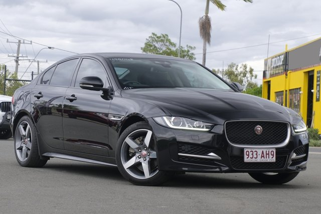 Used Jaguar XE X760 MY17 R-Sport Rocklea, 2016 Jaguar XE X760 MY17 R-Sport Black 8 Speed Sports Automatic Sedan