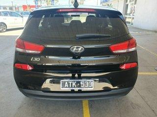 2018 Hyundai i30 PD MY18 Active Phantom Black 6 Speed Sports Automatic Hatchback.