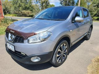 2012 Nissan Dualis J10 Series 3 TI-L Grey Constant Variable Hatchback.